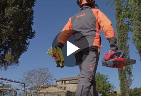The new MTT 3600 professional pruning chain saw