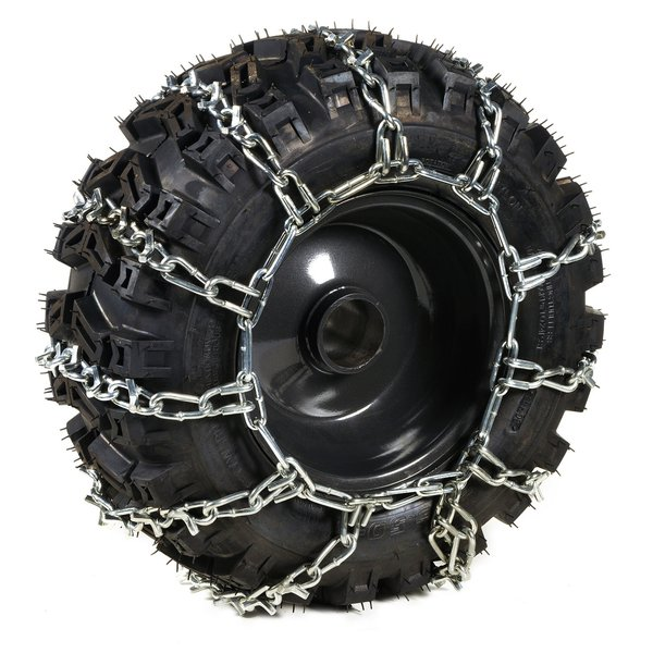 Pair of snow chains for 13 wheels