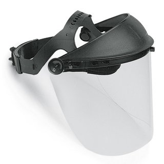 Super-professional polycarbonate visor