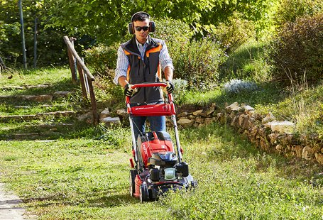 A new look for Efco lawnmowers