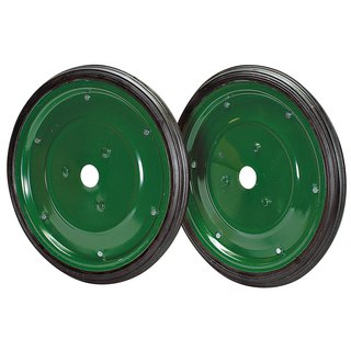 Pair of side wheels for transportation Ø 420 mm