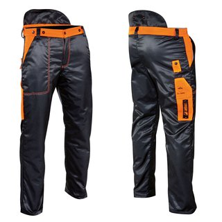 Energy chain-resistant trousers