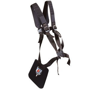 Double harness with quick release