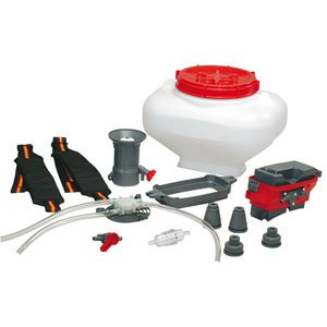 Conversion kit from blower to mistblower