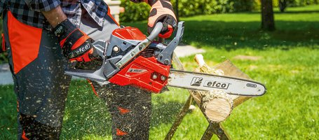 New compact chainsaws from Efco: more reliable than ever