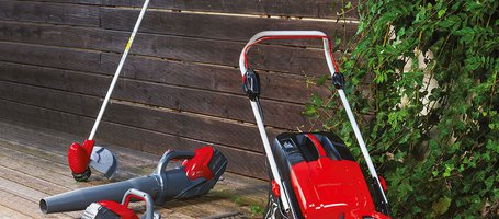 The new range of battery-powered products for gardening