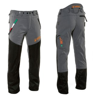 Professional chain-resistant trousers